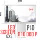 Светодиодный экран 6х3