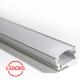 Накладной алюминиевый профиль с экраном AP-СС-038, 2000х13.4х9.7 мм