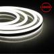 Гибкий неон светодиодный, 144SMD (2835)/м 12Вт/м 50м IP67 220V 3000K
