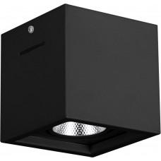 Светодиодный светильник AL522 накладной 15W 4000K черный поворотный