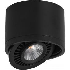 Светодиодный светильник AL523 накладной 15W 4000K черный поворотный