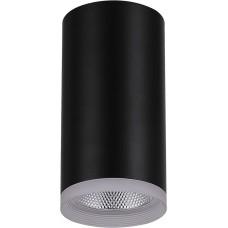 Светодиодный светильник AL532 накладной 15W 4000K черный 80*100