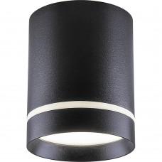 Светодиодный светильник AL535 накладной 25W 4000K черный 100*100