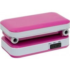 Настольный светодиодный светильник DE1700 2W, розовый