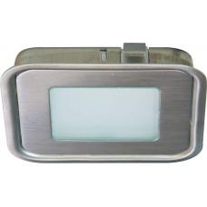 Комплект светильников встраиваемых со светодиодами 6шт,6*8LED, 3,6W, DC12V,белый, G1040