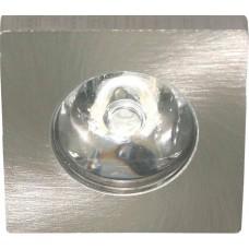 Светодиодный светильник G774 встраиваемый 1W 6400K серебристый