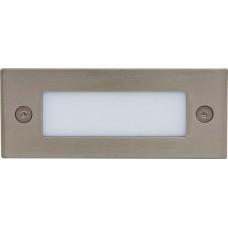Светодиодный светильник LN201A встраиваемый 1W 5000K серебристый