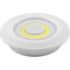 Светодиодный светильник-кнопка FN1207 (3шт в блистере+пульт), 3W, белый