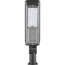 Светодиодный уличный консольный светильник SP2819 50W 6400K 85-265V/50Hz, черный 32252