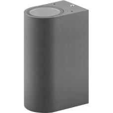 Светильник садово-парковый DH015, 2*GU10 230V, серый 11884