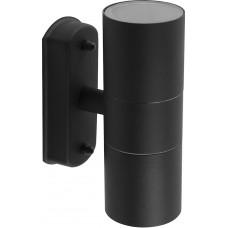 Светильник садово-парковый DH0704, 2*GU10 230V, черный 11881