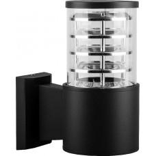Светильник садово-парковый DH0801, Техно на стену вверх, E27 230V, черный 06300