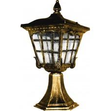 Светильник садово-парковый, 60W 230V E27 черное золото, 2137S 11263