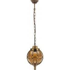 Светильник садово-парковый PL3705 круглый на цепочке 60W 230V E27, черное золото 11369