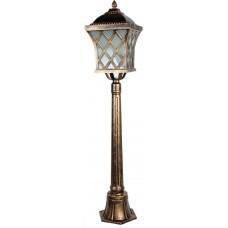 Светильник садово-парковый, 60W 230V E27 IP44 черное золото, PL4066 11444