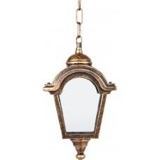 Светильник садово-парковый PL4014 четырехгранный на цепочке 60W E27 230V, черное золото 11397
