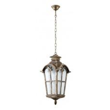 Светильник садово-парковый PL5106 четырехгранный на цепочке 100W 230V E27, черное золото 11531