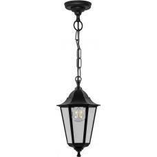 Светильник садово-парковый НСУ 06-60-001 подвесной, 6-ти гранник 60W E27 230V, черный 32254