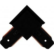 Коннектор угловой для шинопровода, черный, LD1001