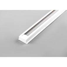 Шинопровод для трековых светильников, белый, 2м, в наборе токовод, заглушка, крепление, CAB1000