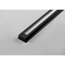 Шинопровод для трековых светильников, черный, 3м, в наборе токовод, заглушка, крепление, CAB1000