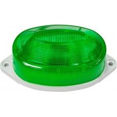Светильник-вспышка (стробы) 3,5W 230V, зеленый, ST1C