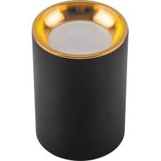 Светильник потолочный ML175 MR16 35W 220V, черный, золото 32633