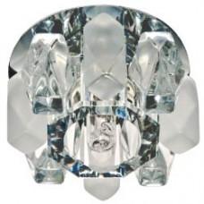 Светильник потолочный,JCD9 35W G9, прозрачный матовый,хром,JD186 18935