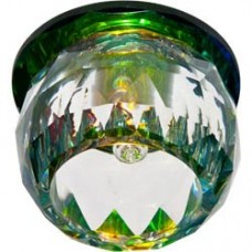 Светильник потолочный, JCD9 G9 прозрачный,многоцветный, с лампой, JD137 18781