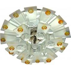 Светильник потолочный JCD9 Max35W G9 прозрачный-матовый -желтый, прозрачный, 1560 28432