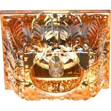 Светильник потолочный, JCD 35W 230V G9 коричневый,хром, CD2719 28179
