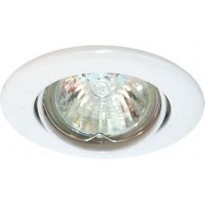 Светильник потолочный, MR11 G4.0 белый, DL110 15001