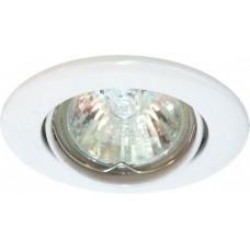 Светильник потолочный, MR11 G4.0 белый, DL8 15100