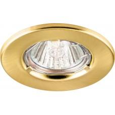 Светильник потолочный, MR11 G4.0 золото, DL7 15096