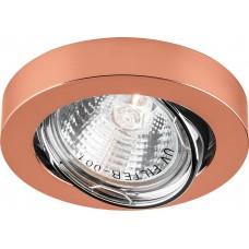 Светильник потолочный, MR16 50W G5.3 медь, DL162 17953