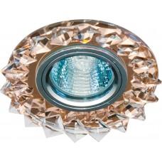Светильник потолочный, MR16 50W G5.3 с прозрачным стеклом, коричневый, CD2515 18803