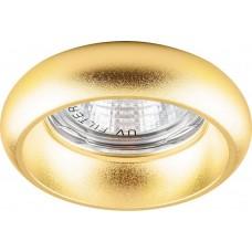 Светильник потолочный, MR16 50W G5.3 золото, DL165 17964