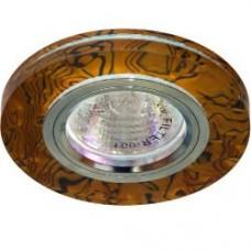 Светильник потолочный, MR16 G5.3 коричневый -черный,серебро, 8044-2 28299