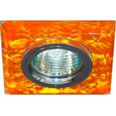 Светильник потолочный, MR16 G5.3 коричневый, серебро, 8181-2 28288