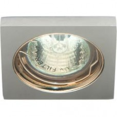 Светильник потолочный, MR16 G5.3 матовый хром,золото, DL1017 20134