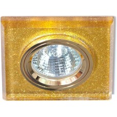 Светильник потолочный, MR16 G5.3 мерцающее золото, золото, 8170-2 19718
