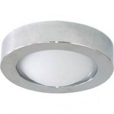 Светильник потолочный, MR16 G5.3 с матовым стеклом, алюминий, DL204 18577