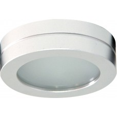Светильник потолочный, MR16 G5.3 с матовым стеклом, алюминий, DL208S 18588