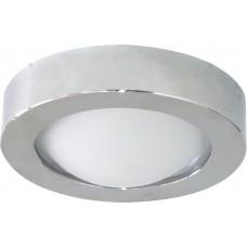 Светильник потолочный, MR16 G5.3 с матовым стеклом, хром, DL204 18576