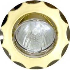 Светильник потолочный, MR16 G5.3 жемчужное золото-титан, 703 15173