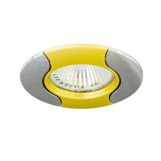 Светильник потолочный, MR16 G5.3 золото-хром, 020Т-MR16 17678