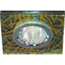 Светильник потолочный, MR16 G5.3 золото,серебро, 8147-2 28306