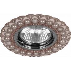 Светильник потолочный MR16 Max35W 220V G5.3, медь,хром, CD2050 28619