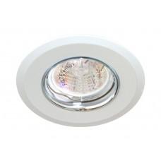 Светильник потолочный MR16 MAX50W 12V G5.3, белый,хром,DL107-C 28384