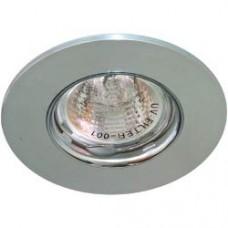 Светильник потолочный MR16 MAX50W 12V G5.3, матовый хром, хром,DL105-C 28379